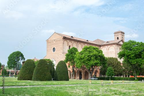 Aluminium Prints Delhi Certosa of Ferrara, the ancient graveyard of the city