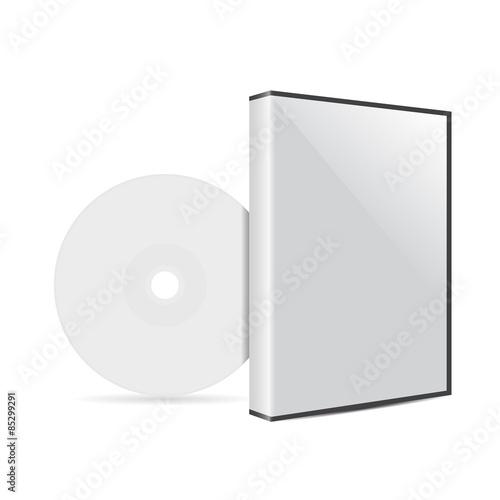 Cuadros en Lienzo  cd or dvd disc cover mockup