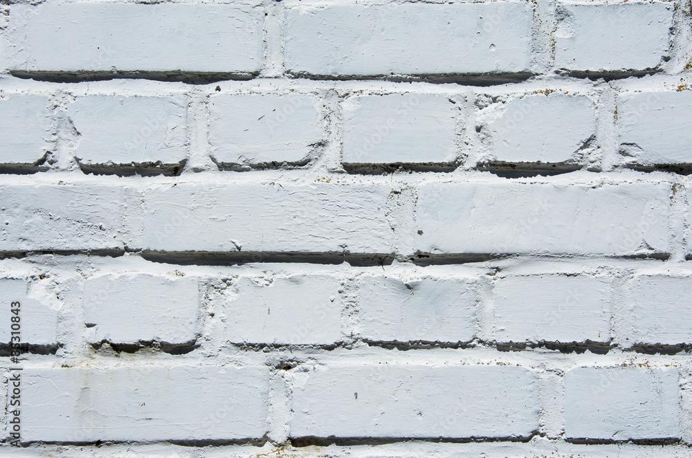 brickwork white painted as seamless texture