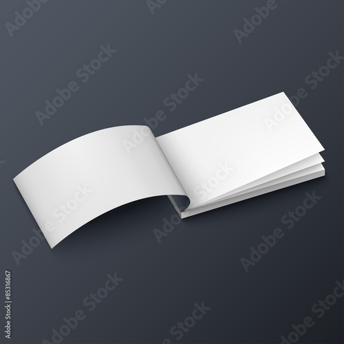 Notepad Booklet Business Card Or Brochure Mockup Template Buy