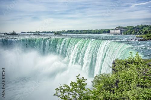 Foto auf AluDibond Wasserfalle Niagara Falls