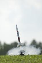 Model Rocket Launching
