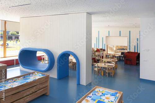 Estonia, indoor view of a newly built kindergarten