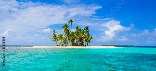 Foto op Canvas Eiland Paradise Tropical Island