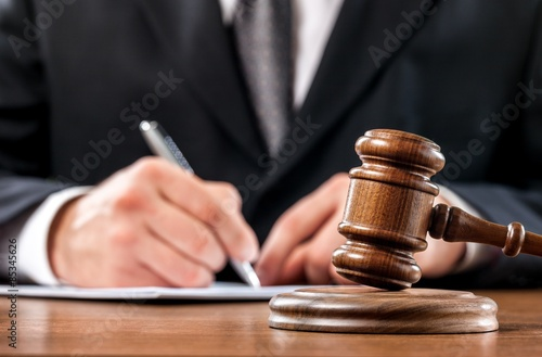 Stampa su Tela Judge, Gavel, Auction.