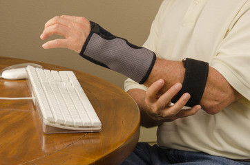 Computer Tendinitis Carpal Tunnel Syndrome Repetitive Stress Injury