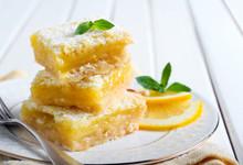 Tangy Lemon Squares