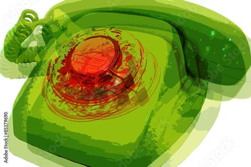 Photo  Teléfono pop art