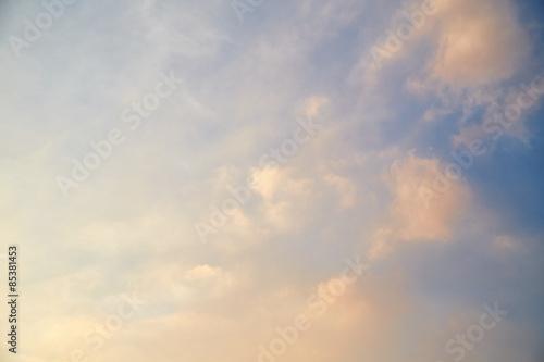 Fototapeta Sky background obraz na płótnie