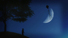Kite In The Moon