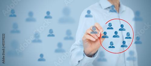 Fotografia Marketing segmentation