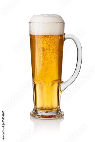 Foto op Plexiglas Bier / Cider Glass of beer