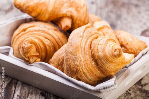 Fotografie, Obraz  Fresh Croissants