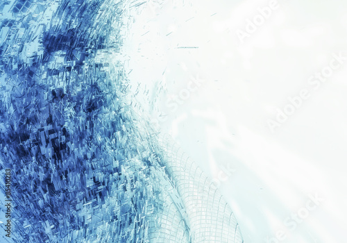 Abstract background blue © zeber