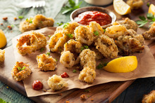 Homemade Breaded Fried Calamari