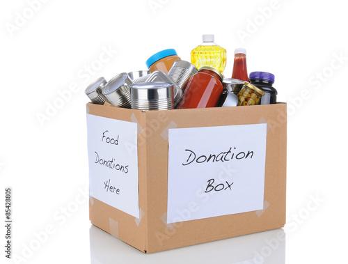 Fotografie, Obraz  Food Drive Box