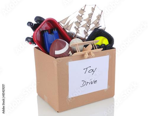 Toy Drive Donation Box