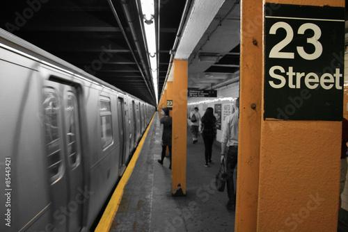 Photo  23 St Subway Station New York City