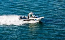 San Juan Police Boat