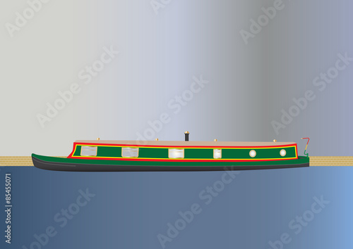 Fotografia Narrowboat