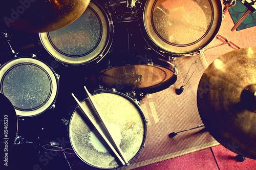 Fotografia Drums conceptual image.