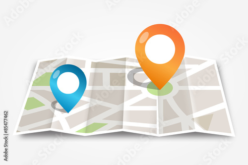 Fotografia  Mapa