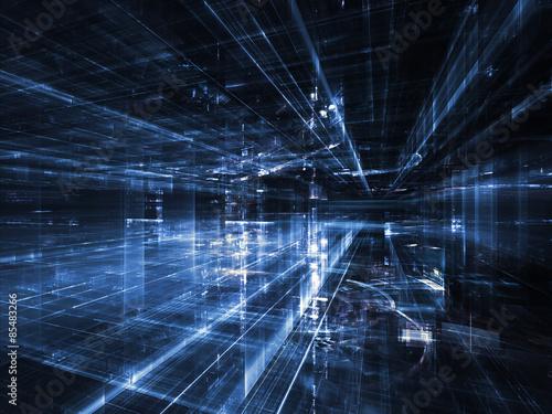 Fotografie, Obraz  Lights of City