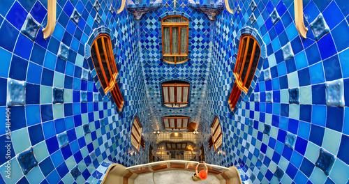 Foto auf Leinwand Barcelona Casa Batlló