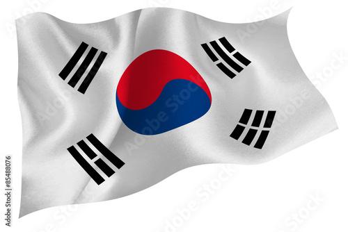Fotografía  韓国  国旗 旗