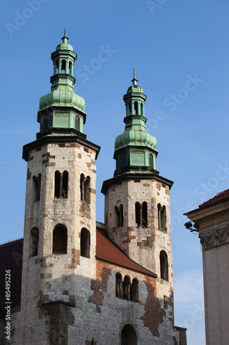 Church of St. Andrew in the Old Town of Krakow #85495226
