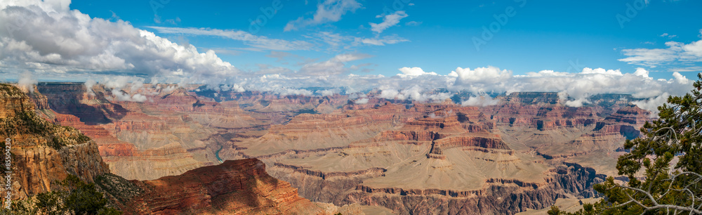 View from Hopi point - North Rim of Grand Canyon