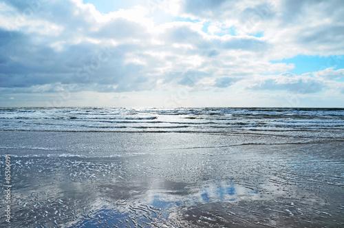 Spoed Foto op Canvas Noordzee Nordsee - Blick auf das Meer