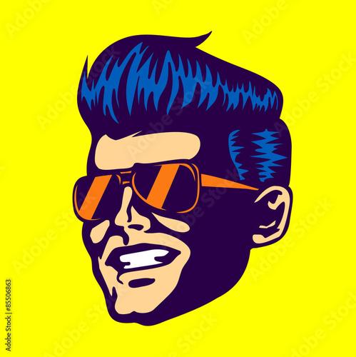 vintage-retro-cool-dude-man-face-head-wearing-aviator-sunglasses-rockabilly-pompadour-haircut-vector
