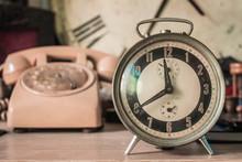 Vintage Of A Clock.