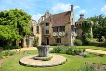 English Garden In Spring Near Kent