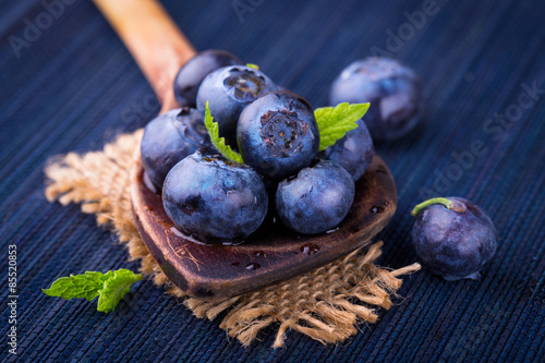 Fotografering Blueberries -  Superfood -  Healthy eating