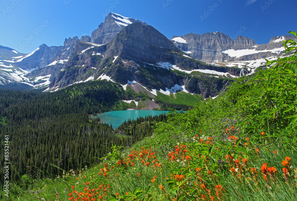 Fototapety, obrazy: Glacier National Park in Montana