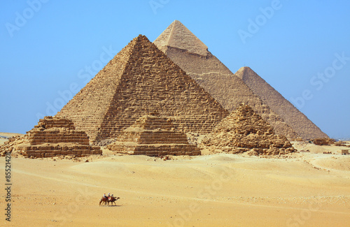 Tuinposter Egypte The pyramids in Egypt