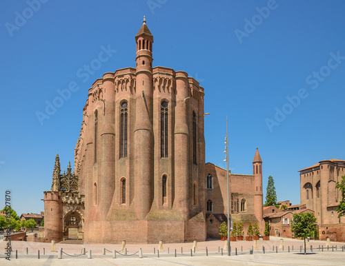 Photo Albi cathedral in Midi-Pyrenees