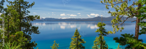 Canvas Prints Lake Lake Tahoe panorama