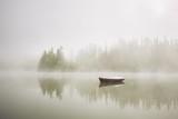 Łódź w tajemniczej mgle - 85530675