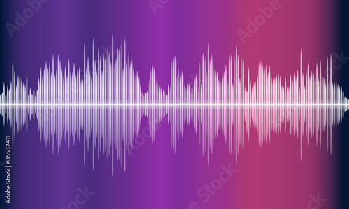 Photo  Vector music volume abstract background