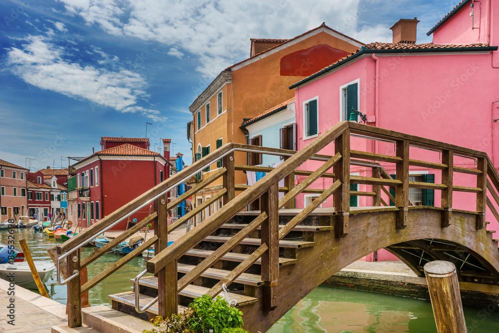 Fototapeta Venice, Burano