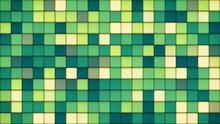 Green Tiles Glass Mosaic Background