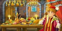 Cartoon Fairy Tale Scene - Ill...