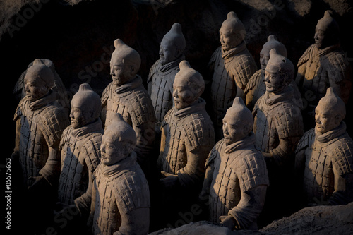 Deurstickers Xian Terracotta warriors 1