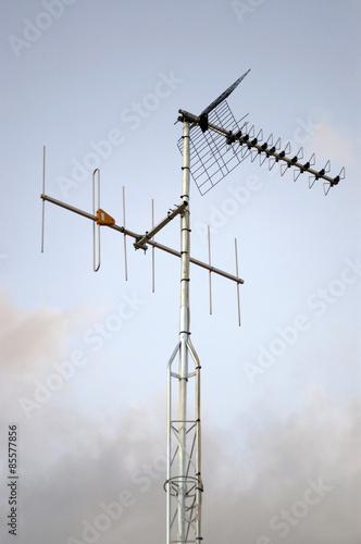 antena tv Fotobehang