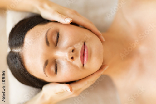 woman in spa плакат