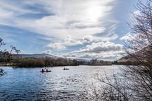 Kayaking On Loch Tay, Scotland