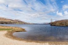 Loch Tay In Scotland